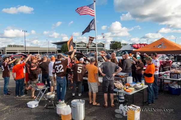 New Tailgating Location